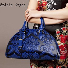 New fashion women's handbags embossing shoulder messenger bag (national style handbag) handbag