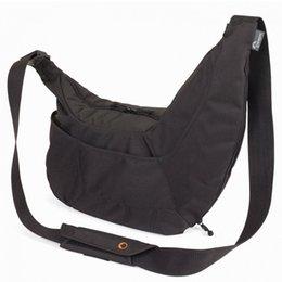 Wholesale Lowepro Pro the Passport Sling PS SLR Camera Bag Case Travel Bag Shoulder Carrying Nylon Case for Canon Nikon Sony Pentax Olympus Camera SLR