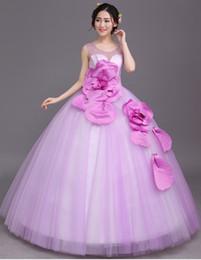 rhinestone beading light purple flower waist ball gown medieval dress Renaissance Gown princess Victorian Marie Antoinette