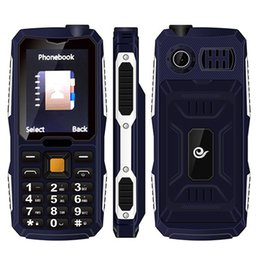 Wholesale Chinese Wholesale Torches - 2016 Qtech Q49 CDMA Cell phone 2.4Inch 800MHZ Singal SIM 0.3MP 4800mAh big battery NO.1 with torch mobile phone