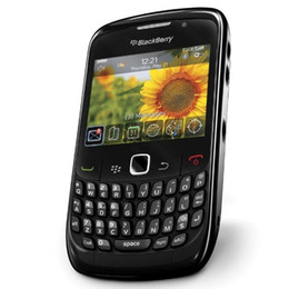 Original Blackberry 8520 Curve 2.46 Inch 2MP QWERTY Keyboard WIFI 2G GSM Refurbished Unlocked Mobile Phone