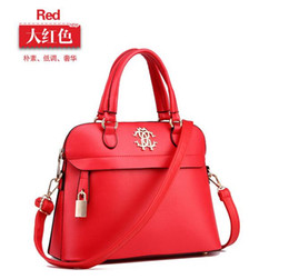 Shell bag 2016 women's high-end temperament leather shoulder messenger bag