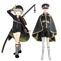 Touken Ranbu Cosplay en ligne Hotarumaru Samurai Costume Cosplay Uniforme de l'Armée Japonais Jeu vidéo Uniforme militaire pour Adult Custom à partir de jeux vidéo japonais fournisseurs