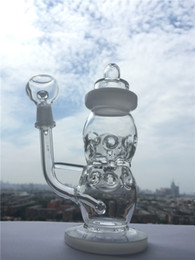 Wholesale High end Design New Fab Egg Baby Bottle Oil Rigs water pipe glass bongs Recycler Glass Pipes