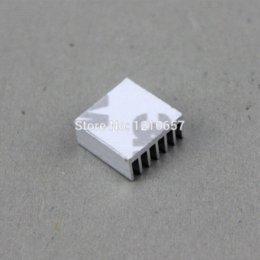 Wholesale 100pcs x x mm Silver Aluminum Heatsink MOS Heat sinks Cooler XBOX VGA X360