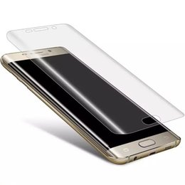 For Samsung Galaxy S6edge Adding hard organic glass mobile phone screen protective filmCurved full screen coverage To fall and not to break