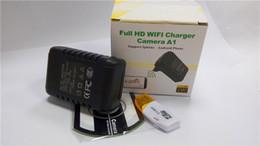 Caméra pour la sécurité cctv en Ligne-Mini caméra Chargeur WiFi caméra Full HD 1080P de détection de mouvement WIFI IP P2P Spy Cam Chargeur US EU Plug cachée de sécurité CCTV dropshipping