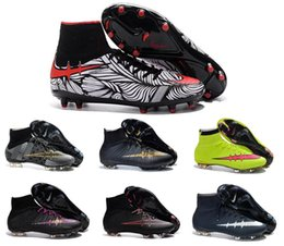 Wholesale Discount Superfly CR7 Shoes Men s Soccer Boots Cleats Men Sports Shoes football sneakers Top Soccer Shoes crampons de foot Football Shoes