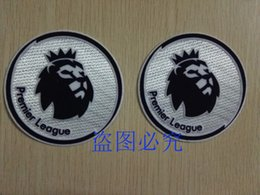 Wholesale 2 white soccer patch season game city soccer Badges
