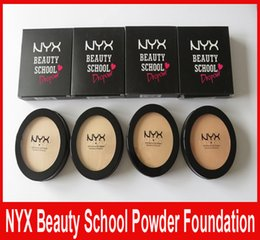 Wholesale NYX Beauty School Dropout Highlighters Highlight Powder Foundation Profection Face Makeup Palette Brand Make Up Cosmetics Colors