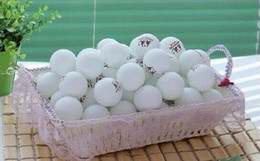 Wholesale Ao Ying Free of shipping White set mm Pong Balls Balls Ping Pong Balls Washable Drinking Practice Table Tennis Ball