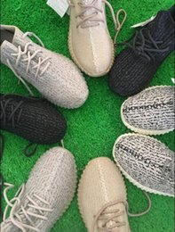 Wholesale Kamatiti Best PU Wide sole Boost Lighter Shoes Moonrock Oxford Tan Pirate Black Running shoes snakers with box bag keychain size US5