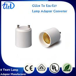 Wholesale 2017 Best Promotion GU24 To E26 E27 LED Light Base Bulb Lamp Holder Adapter Socket Converter Screw Socket