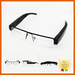 Wholesale 32GB P P HD Digital Video Camera Camcorder Camera Cam Spy Hidden Glasses Eyewear Micro without Sd Card