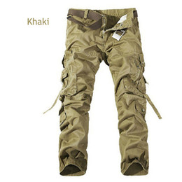 2016 New joggers men's camouflage trousers beam foot slacks elastic draw string military cargo mens pants