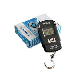 Wholesale 2016 NEW Outdoor Portable kg g LCD Electronic Balance Digital Fishing Hook Luggage Weighing Hanging Digital Scale