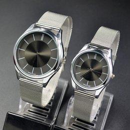 Wholesale Fashion C Brand women men Unisex silver Steel Metal Band quartz K wrist watch C01