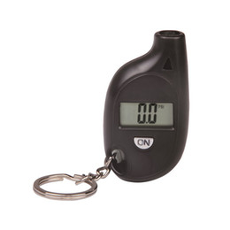 Wholesale Compact mini type air pressure watch tire table portable small tyre pressure gauge key button tire pressure gauge digital display
