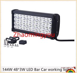 2016 144W 48*3W LED Bar Car working light Automobile car light Off-road lights SUV 4WD LED Tractor Working Light