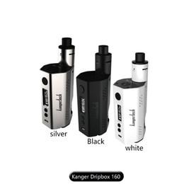 100% Original Kanger Dripbox 160 Starter Kit with 7ml Liquid Capacity KangerTech Dripbox 160w Box Mod vs Subvod Mega Kit vs Topbox Mini Kit