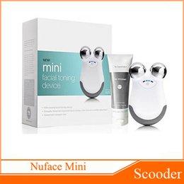 Wholesale Nuface mini facial toning device Beauty Device Face Massager VS Nuface Trinity PRO Mia Fit PMD Pro