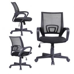 Wholesale Ergonomic Midback Executive Swivel Mesh Office Chair Computer Desk Task Black
