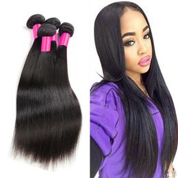 3 Bundles 7A Unprocessed Brazilian Hair Weave Bundles Queen Hair Products Brazilian Virgin Hair Brazilian Virgin Hair Straight