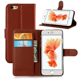 Wholesale PU Leather Stand Wallet Case with Buckle Credit Card Slot Pocket Wallets Case for Alcatel lg K7 Tribute LG V10 G4 Stylus