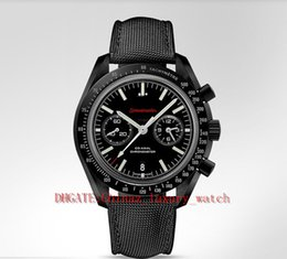 Wholesale luxury watch mm Super black ceramic table dark side of the moon watches