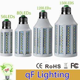 Wholesale New Bright w w w w E27 E14 B22 AC85 V SMD2835 model Dimmable corn Bulb LED Corn Light LED Buld spotlight Lamps