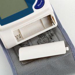 Free Shipping New Digital LCD Wrist Cuff Blood Pressure Monitor Heart Beat Meter Health Monitors Blood Pressure Tonometer