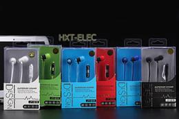 El bajo piso en Línea-Los auriculares móviles universales con el micrófono se divierten el bajo fuerte de la música del receptor de cabeza JY-Q18 en el oído para el teléfono móvil del mp3 del teléfono móvil del iphone Samsung