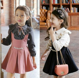 Wholesale halloween mother daughter clothes thanksgiving kids clothing TOPS Skirt Set Children baby outfits Fashion toddler Set