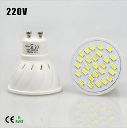 Energy Saving Full Watt 7W GU10 LED Spotlight Bulb AC110v-220V Heat resistant Body SMD5730 27LEDs lamp lighting