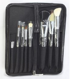 Wholesale Hot Sell New M C assurance makeup brushes Makeup Brush kit Sets for eyeshadow blusher Cosmetic Brushes Tool