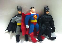 2017 superhéroes juguetes de peluche 2015 Los nuevos 25cm los animales de peluche estupendo del héroe de la muñeca del juguete de los vengadores juegan 3 estilos A074 superhéroes juguetes de peluche en venta