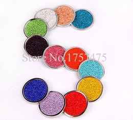 Wholesale pieces My Coin mm Assorted Months Birthstone Crystal Coin Disc for Stainless Steel Frame Pendant