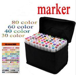 Wholesale Art mark pen color Alcohol Marker pen soluble pen cartoon graffiti art copic sketch markers for designers TOUCHFIVE markers pen