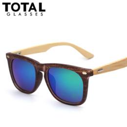 Wholesale Fashion Wood Sunglasses Men Brand New Designer Goggles Gafas de sol Sport Outdoor Bamboo Sun Glasses Oculos Masculino