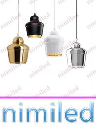 Wholesale nimi625 Dia cm Simple Alvar Aalto Artek Metal Plating Dining Room Chandelier Creative Fashion Bedroom Bedside Pendant Lamps Lighting
