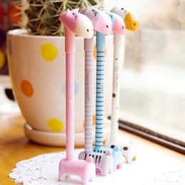 Free Shipping 20pcs Cute Style Donkey Ballpoint Pens Gel Pens Signing Pens Writing Supplies Cute Prize Gifts Papelaria