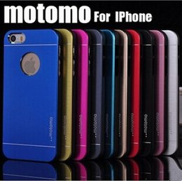 Wholesale Ultra Thin Motomo Metal Aluminium Alloy Hard PC Case For Iphone S Plus Samsung S6 S5 Note Note S7 Mixed Model Order