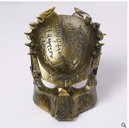 Wholesale New style movie Predator mask Halloween ghastliness mask movie theme series avpr lone wolf w09001