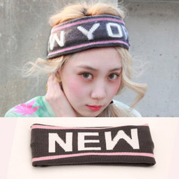 """NEWYORK"" fashional hair band headband hair accessories fashion personality knitted headband"