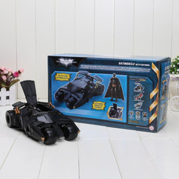 Wholesale Robot Batman Car and Action Figure Batmobile Arkham city Doll Dolls Toy For Children Kids Baby toy Gift Military Toys