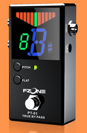 Wholesale Pedal Tuner Chromatic Guitar Parts and Accessories Musical Instrument Include Battery