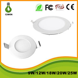 Wholesale led panel light w Dimmable led round ceiling light in led panel lightings High popularity Shenzhen manufacturer