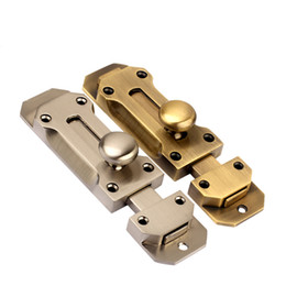 Wholesale antique Door Bolt wooden Hardware window Lock zinc alloy door latch furniture bolt DIY household handmade part