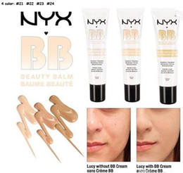 Wholesale Newest NYX Perfect Cover BB Cream ml Cosmetic Concealer Whitening Isolation Skin Care Natural Naked Makeup Concealer Soft Skin Colors