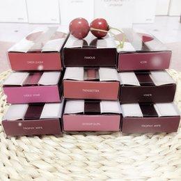 Wholesale 16 Colors Huda Beauty Matte Liquid lipstick Lip Gloss Make up Waterproof Long Lasting Trophy Wife Bombshell Icon Vixen